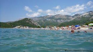 Morze Adriatyckie w Buljarice