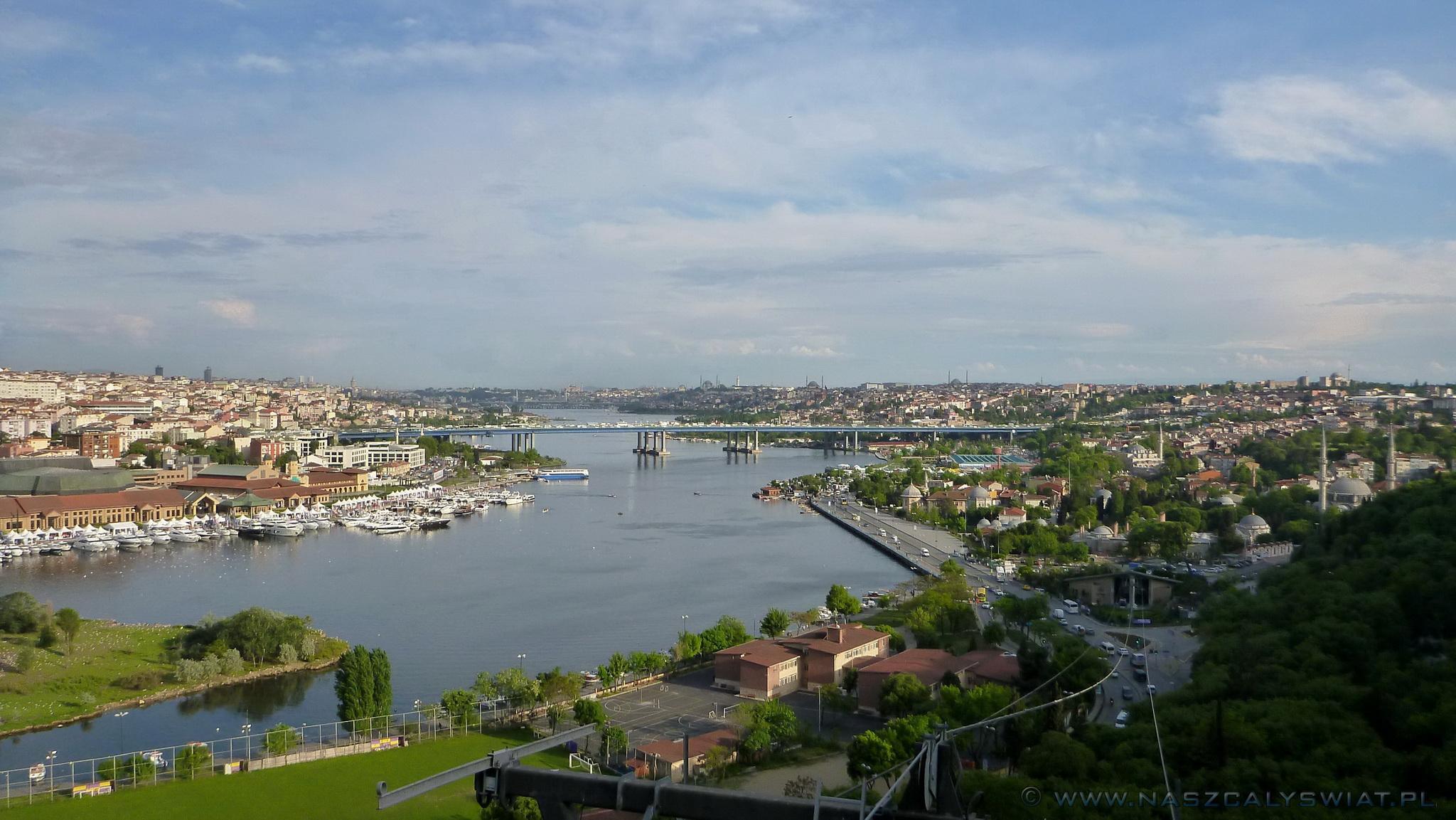 Panorama ze Wzgórza Pierre Loti