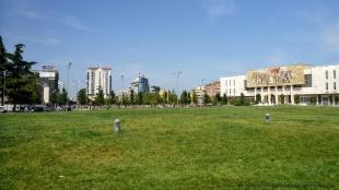 Plac Skanderbega i Muzeum Narodowe