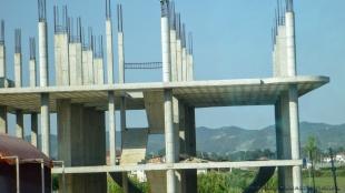Albańskie budynki