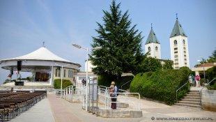 Ołtarz polowy i główny kościół