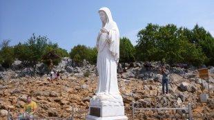 Figura Matki Boskiej na Górze Objawień