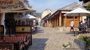 Uliczki Mostaru