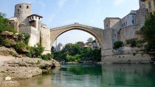 Symbol Mostaru i całej Bośni
