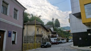 Typowe bośniackie miasteczko