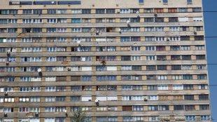 Budynki do dziś noszą ślady wojny