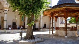 Meczet w starej dzielnicy Baščaršija