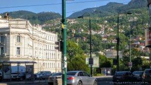 Wzgórza nad Sarajewem