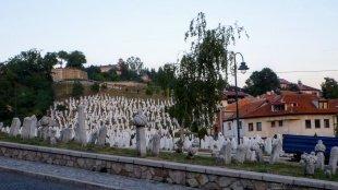 Cmentarz Kovaci i mauzoleum Alija Izetbegovića