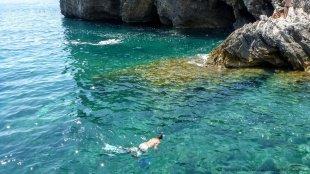 Krystaliczna woda Morza Adriatyckiego