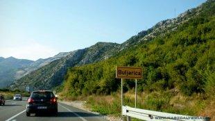 Wjazd do Buljaricy