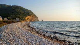 Jeden z krańców plaży