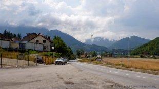 Pobliże granicy z Serbią