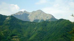 Większa część krajobrazu to góry