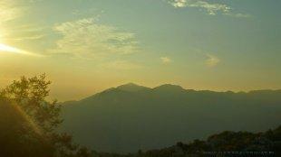 Góry o poranku