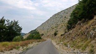 Droga nad Zatokę Kotorskę od strony gor Lovcen