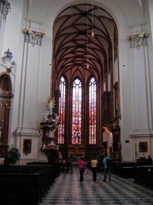 Wnętrze Katedry Świętych Apostołów Piotra i Pawła