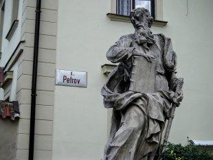 Posąg przy Katedrze