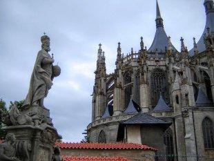 Kutna Hora - Kościół św. Barbary