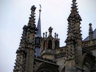 Wieże kościoła św. Barbary