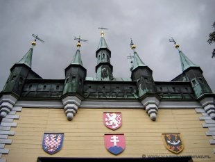 Praga - Wzgórze Petřín