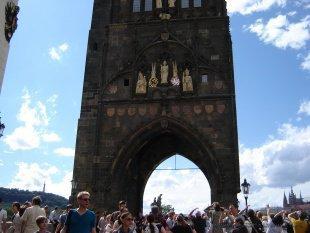 Brama wejściowa na Most Karola