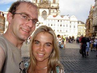 Stare miasto i my :)