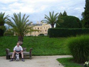 Park i zamek