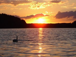 Romantyczne zachody słońca