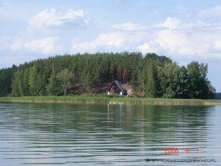 Wyspa z domkiem