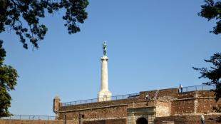 Pomnik na Twierdzy Kalemegdan