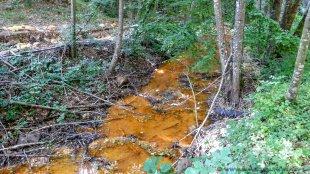 Rdzawa rzeka