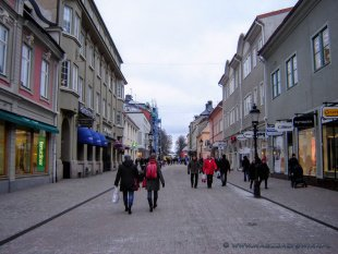 Ulice Nyköping