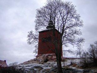 Budowla na wzgórzu