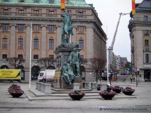 Pomniki w Sztokholmie