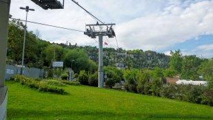 Kolejka linowa na wzgórze Pierre Loti